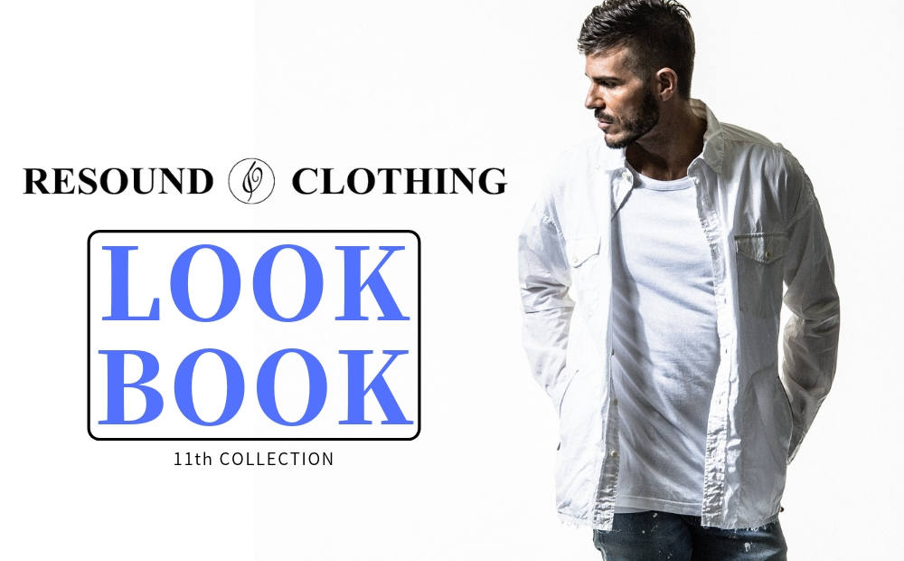 11th COLLECTION (19SPRING) LOOK BOOK