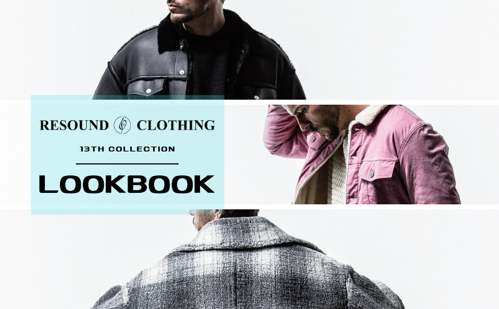 13th COLLECTION (2019AW) LOOK BOOK