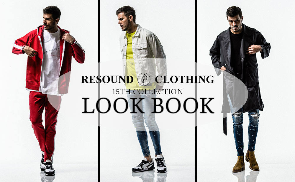 15th COLLECTION LOOK BOOK